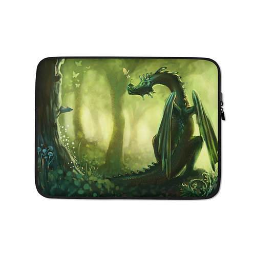 "Laptop sleeve ""Forest"" by Hymnodi"