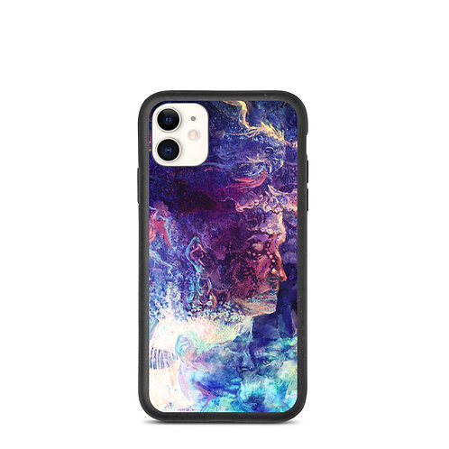 """iPhone case """"Eagle and the Space Carp"""" by Solar-sea"""