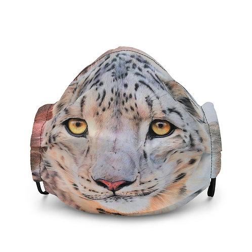 "Mask ""Snow Leopard"" by Beckykidus"