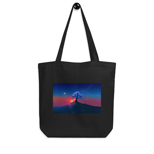 """Tote bag """"Just a Tree and a Breeze"""" by """"JoeyJazz"""""""