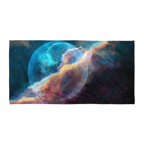 """Beach Towel """"Hubble Bubble"""" by """"JoeyJazz"""""""