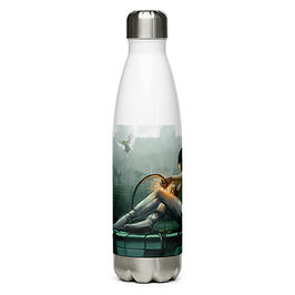 """Water Bottle """"Self Help"""" by Hymnodi"""