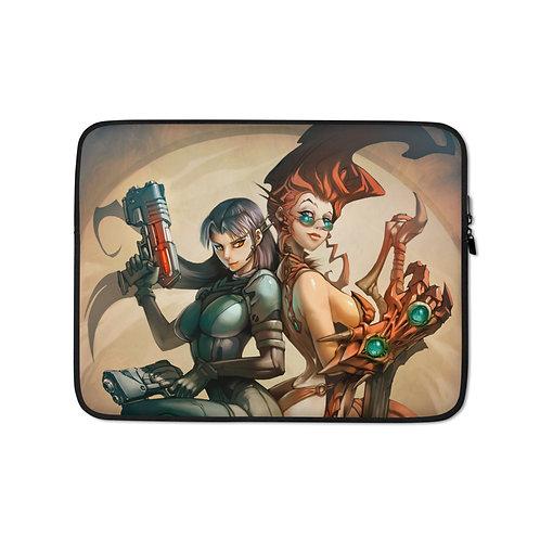 """Laptop sleeve """"Fantasy and Sci-Fi"""" by El-grimlock"""