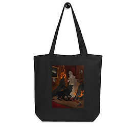 """Tote bag """"Hungry Hellhounds"""" by """"AbigailLarson"""""""