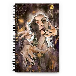 """Notebook """"The Ghost Inside"""" by Bikangarts"""