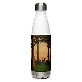 "Water Bottle ""Hunter's Path"" by Saddielynn"