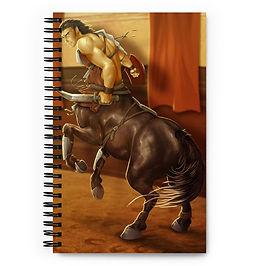 """Notebook """"Thraex Centaur"""" by Lizkay"""