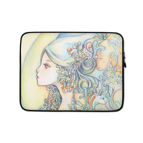 "Laptop sleeve ""Aquarius"" by Hellobaby"