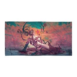 "Beach Towel ""Dryad and Fairy"" by ""DasGnomo"""