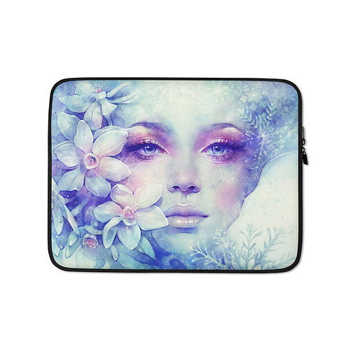 """Laptop sleeve """"December"""" by Escume"""