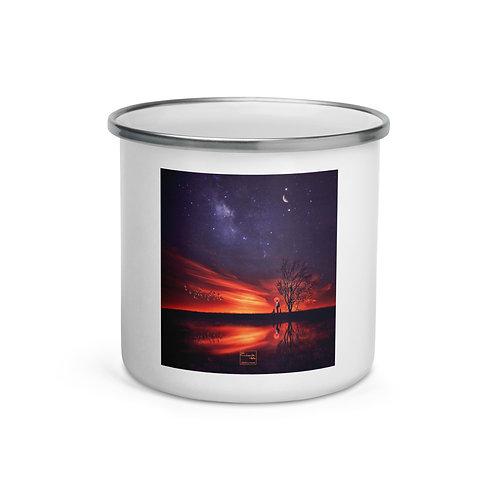 "Enamel Mug ""A Special Sunset"" by Elysekh"