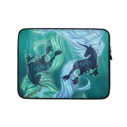 """Laptop sleeve """"Drown"""" by Astralseed"""