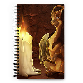 """Notebook """"Message for You"""" by Lizkay"""
