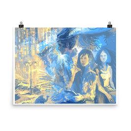 """Poster """"Megapolis Desert"""" by Solar-sea"""