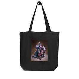 "Tote bag ""Viking Gnome and Warg Wiener"" by ""DasGnomo"""