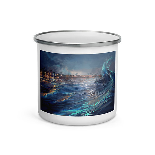 """Enamel Mug """"Pismo Beach"""" by """"chateaugrief"""""""