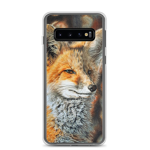 """Samsung Case """"Bright Side of the Red Fox"""" by Beckykidus"""