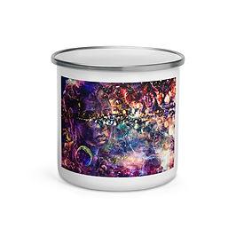 "Enamel Mug ""Dreaming Galaxies"" by Ssolar-sea"
