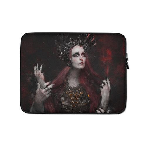 """Laptop sleeve """"Narcissus"""" by Dark-indigo"""