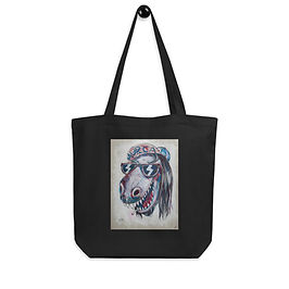 """Tote bag """"Dinosaur Jesus"""" by """"MikeOncley"""""""