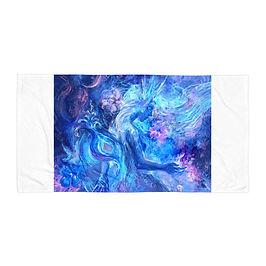 """Beach Towel """"Mermaids Wintertale"""" by Solar-sea"""
