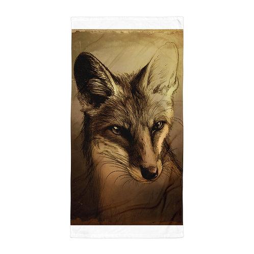 "Beach Towel ""Fuchs"" by ""Culpeo-Fox"""