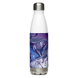"""Water Bottle """"Zoom Zoom"""" by Astralseed"""