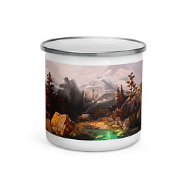 """Enamel Mug """"Sonora Pass"""" by """"chateaugrief"""""""