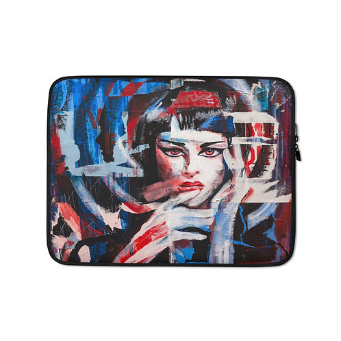 """Laptop sleeve """"Think"""" by MikeOncley"""