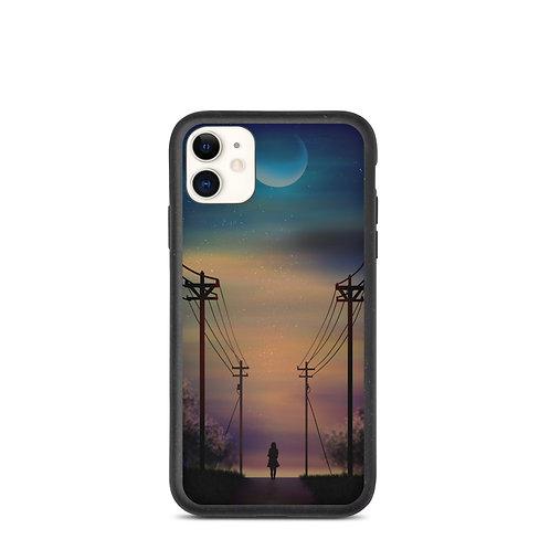 """iPhone case """"Alone"""" by Saddielynn"""
