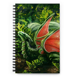 """Notebook """"Fruit"""" by Hymnodi"""