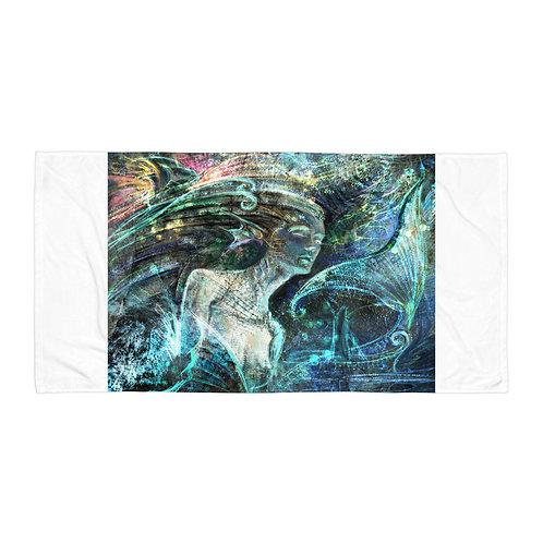 """Beach Towel """"Sea Spiritual"""" by Solar-sea"""