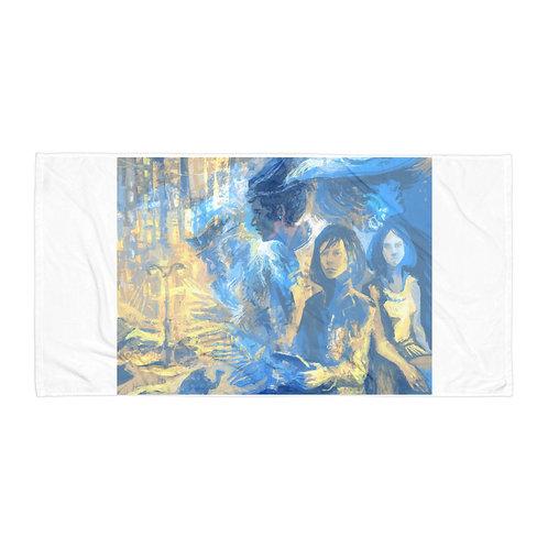 "Beach Towel ""Megapolis Desert"" by Solar-sea"