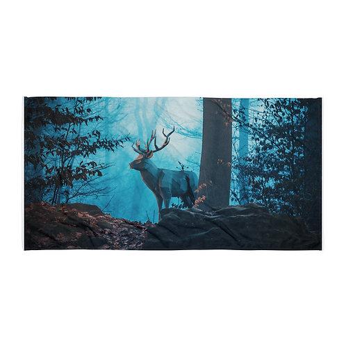 "Beach Towel ""Blue Forest"" by Hotamr"