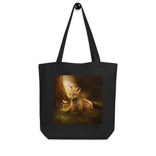 """Tote bag """"Little Fox and the flowers"""" by """"ElenaDudina"""""""