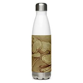 "Water Bottle ""Beastiarium Urbanum"" by Lizkay"