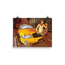 """Poster """"Sandwich Break"""" by Lizkay"""