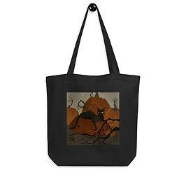 "Tote bag ""Black Cat"" by ""AbigailLarson"""