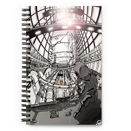 """Notebook """"Hustle and Bustle"""" by Ccayco"""