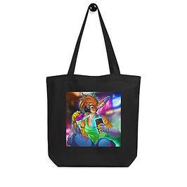 "Tote bag ""Cyberpunk Gryph"" by Lizkay"