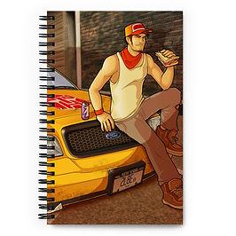 """Notebook """"Sandwich Break"""" by Lizkay"""