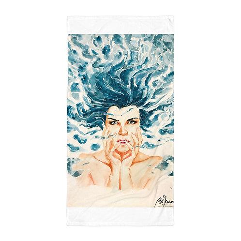 "Beach Towel ""Drown"" by Bikangarts"