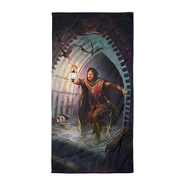 """Beach Towel """"Dungeons and Dragons"""" by """"JeffLeeJohnson"""""""