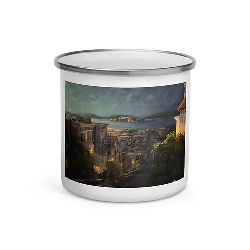 "Enamel Mug ""Alcatraz"" by ""chateaugrief"""