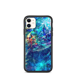 "iPhone case ""My Indigo"" by Solar-sea"