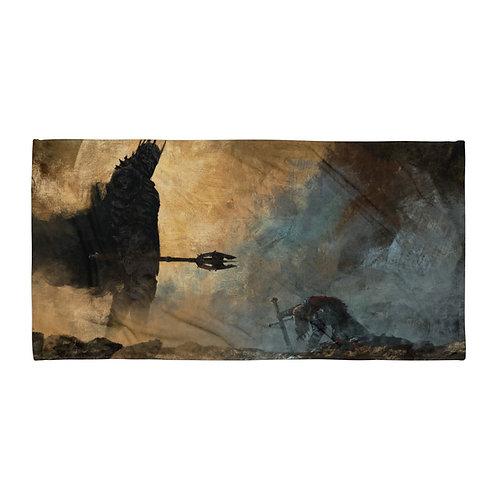 "Beach Towel ""The Fate of Isildur"" by ""Anatofinnstark"""