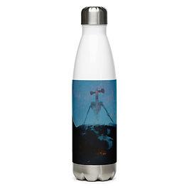 """Water Bottle """"Air Raid"""" by Dark-indigo"""