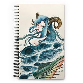"""Notebook """"Capricorn"""" by Bikangarts"""