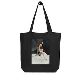 """Tote bag """"Stay here, with me"""" by """"AbigailLarson"""""""