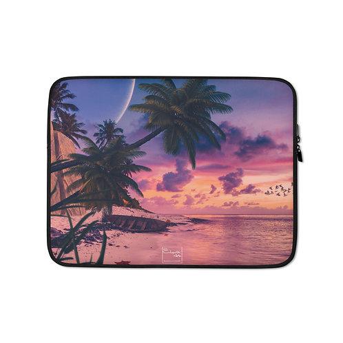 "Laptop sleeve ""The Starfish Beach"" by Elysekh"